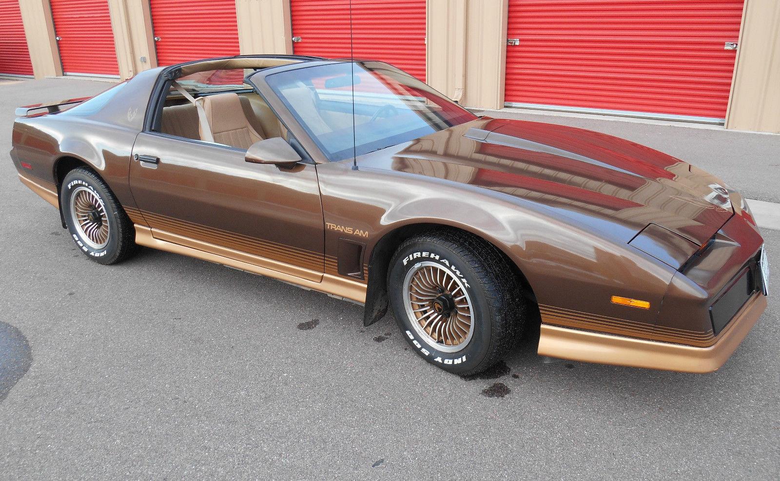 1984 pontiac firebird trans am coupe 2 door 5 0l one owner 100 original classic pontiac firebird 1984 for sale smclassiccars com