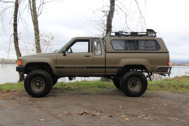 Most Reliable Truck Ever >> 1984 Toyota 4x4 Truck / Restored / Tastefully upgraded ...
