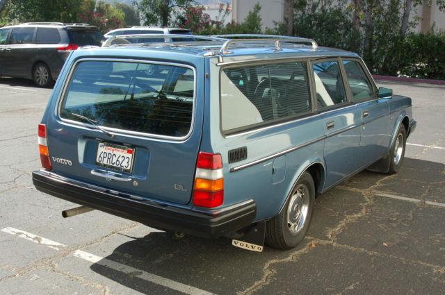 1984 Volvo 240 Wagon GL - Classic Volvo 240 1984 for sale