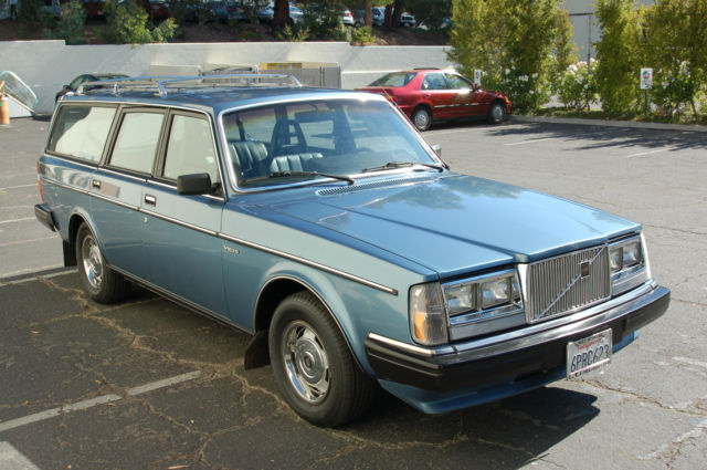 1984 Volvo 240 Wagon Gl Classic Volvo 240 1984 For Sale