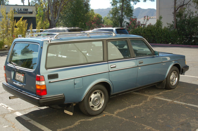 1984 Volvo 240 Wagon GL - Classic Volvo 240 1984 for sale