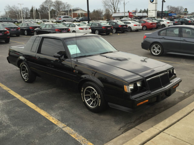 1985 Buick Grand National Regal Coupe Turbo T Type 3 8l