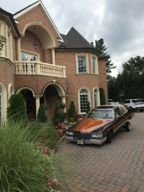 Cadillac Fleetwood Brougham Coupe on Cadillac 4100 Engine Swap