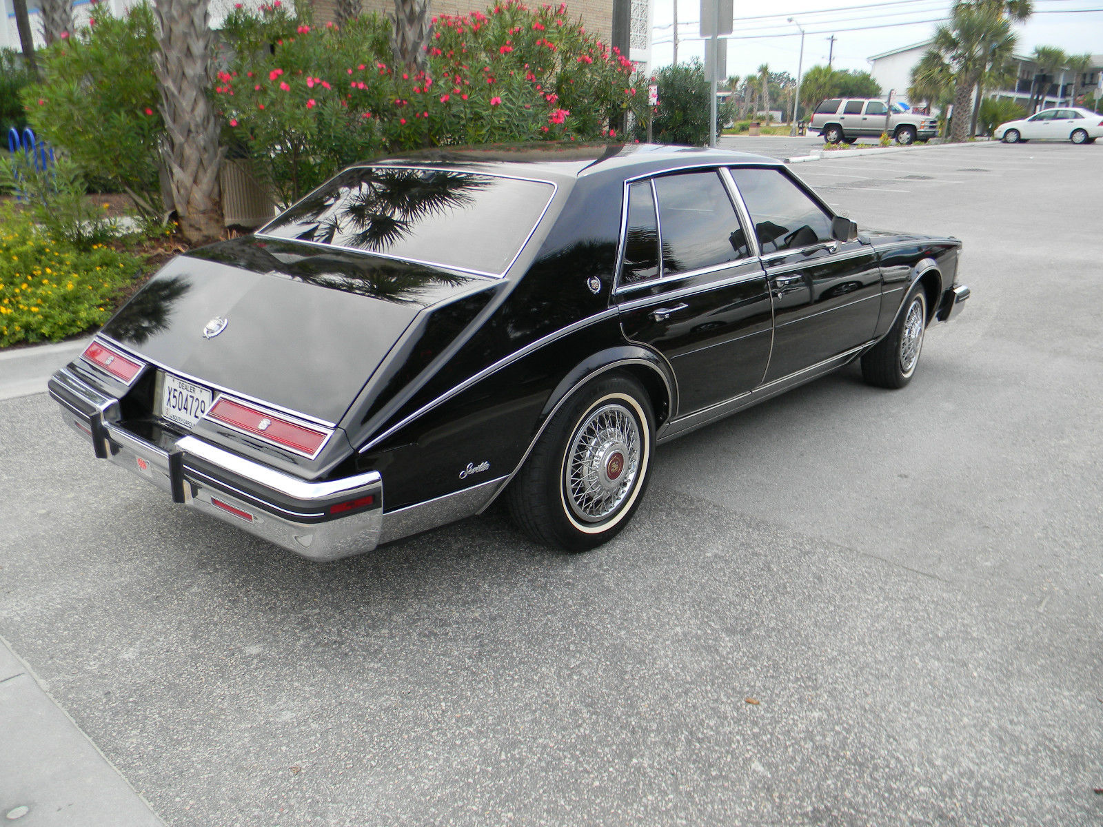 Myrtle Beach Cadillac >> 1985 Cadillac Seville Elegante Sedan 4-Door 4.1L - Classic ...