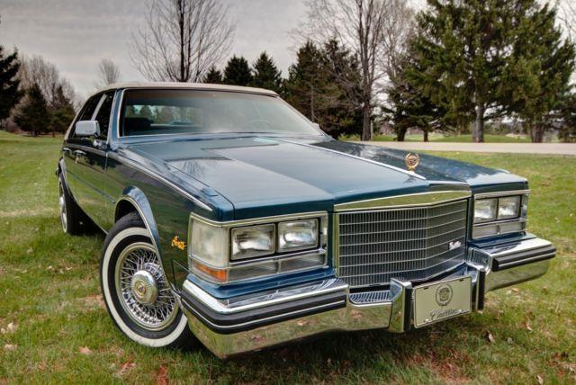 1985 Cadillac Seville Elegante Sedan 4 Door 4 1l 76k Miles