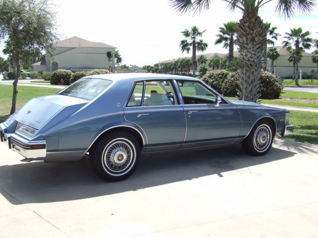 1985 Cadillac Seville Touring Suspension Sedan Classic Cadillac