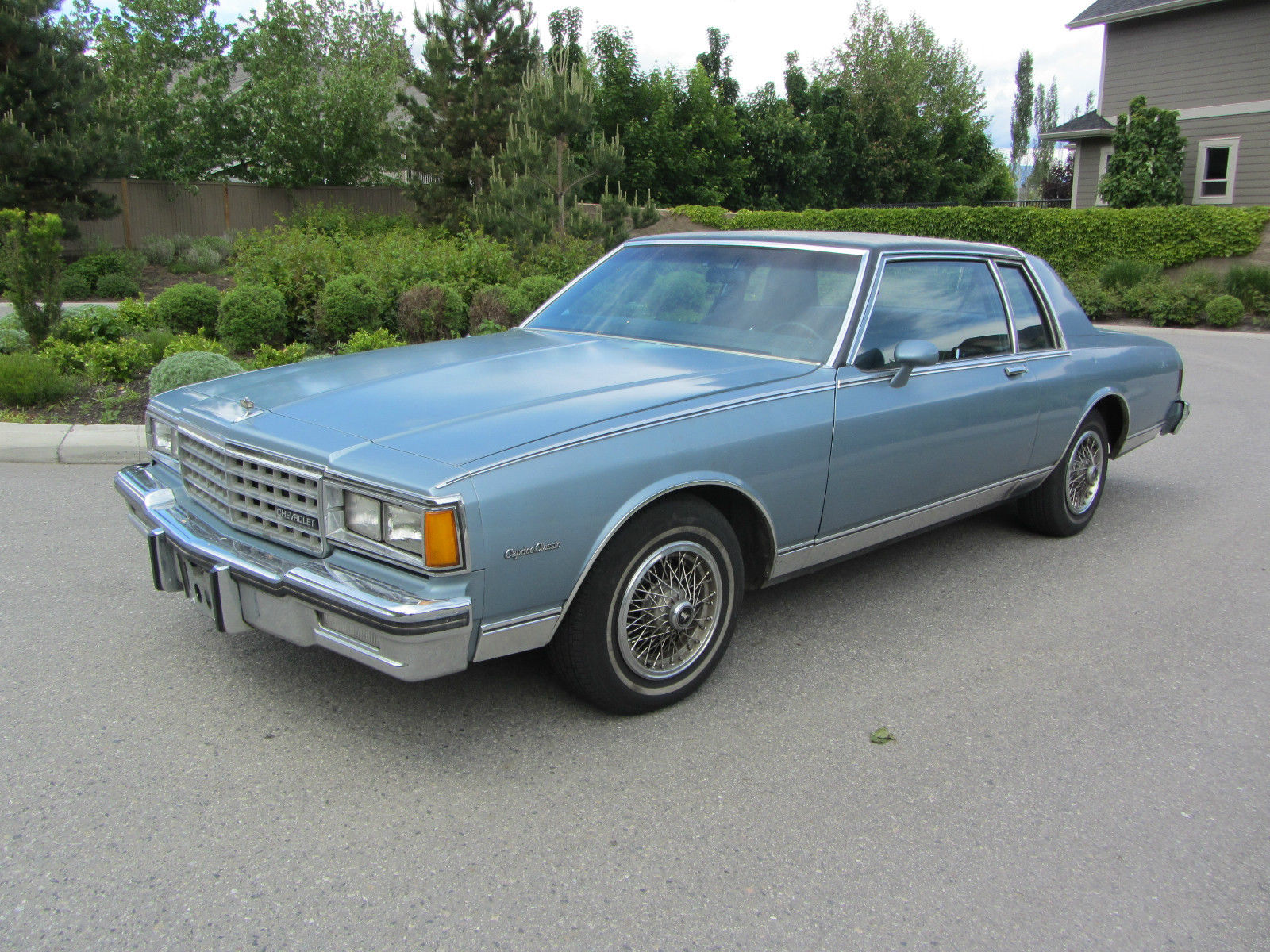 Chevrolet Caprice Door Landau Coupe With Low Miles on Chevrolet Caprice Classic Steering