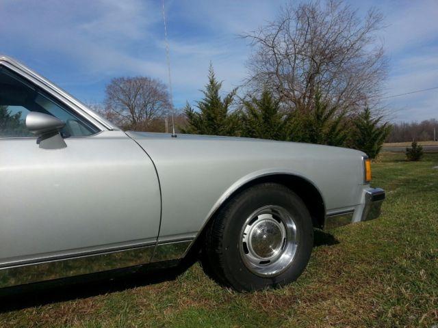 1985 chevrolet caprice classic coupe 2 door 64 000 miles impala ss b body classic chevrolet caprice 1985 for sale smclassiccars com