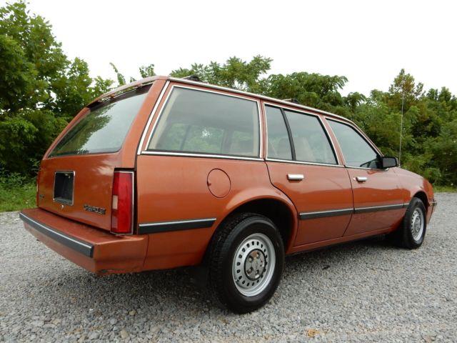 1985 Chevrolet Cavalier Base 4dr Wagon FWD - Classic ...
