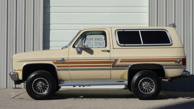 1985 Chevrolet Chevy Blazer One Owner Not Gmc Jimmy 4wd 4x4