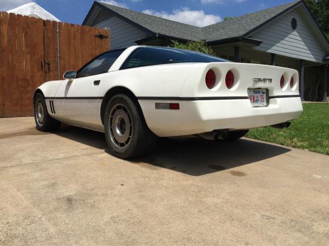 1985 Chevrolet Corvette 4 Speed Coupe 2 Door 5 7L Rebuilt