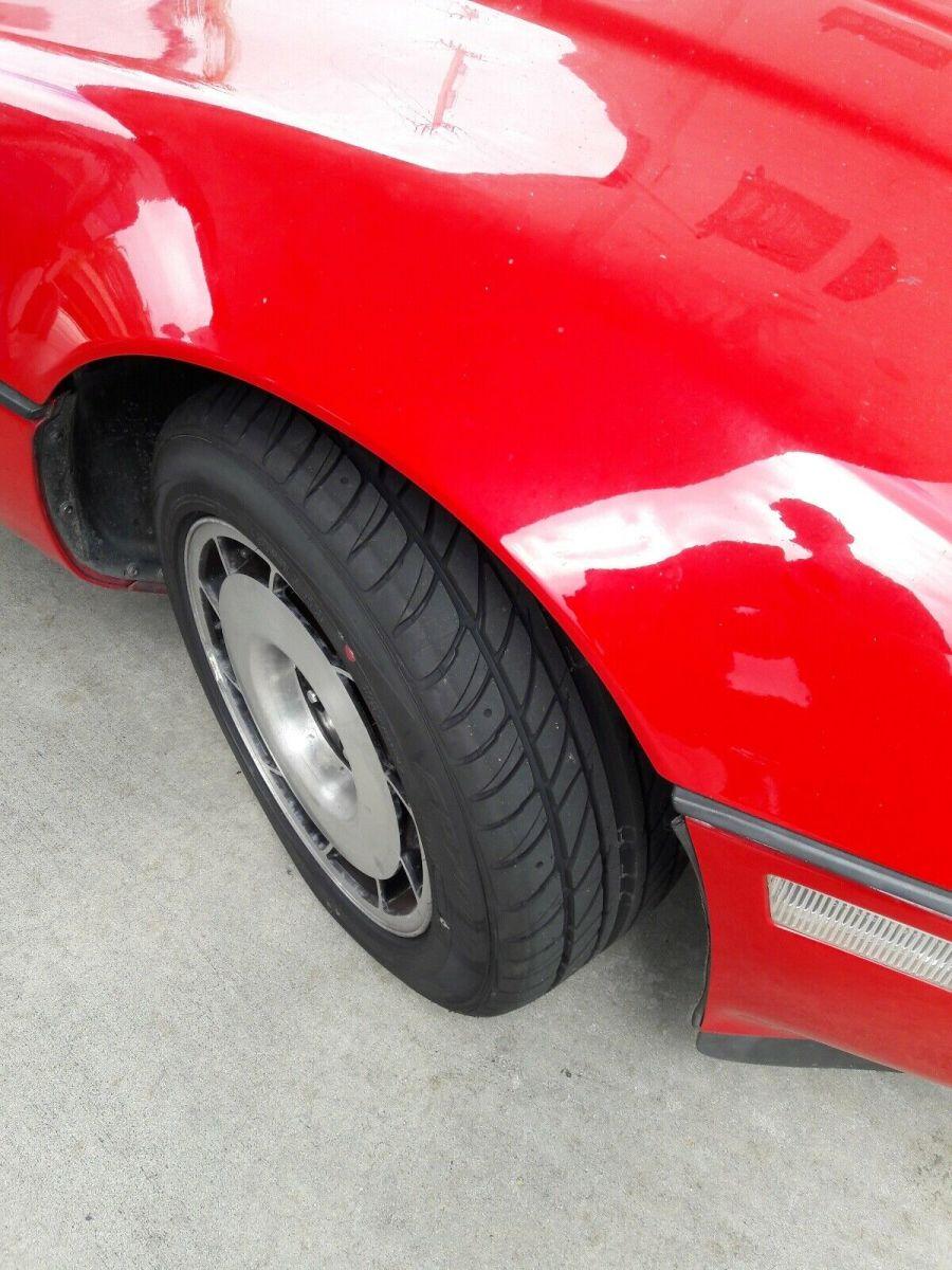 1985 Chevrolet Corvette Hatchback Red Rwd Manual