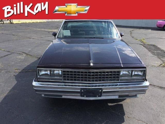 1985 Chevrolet El Camino 16296 Miles 2dr Standard Cab