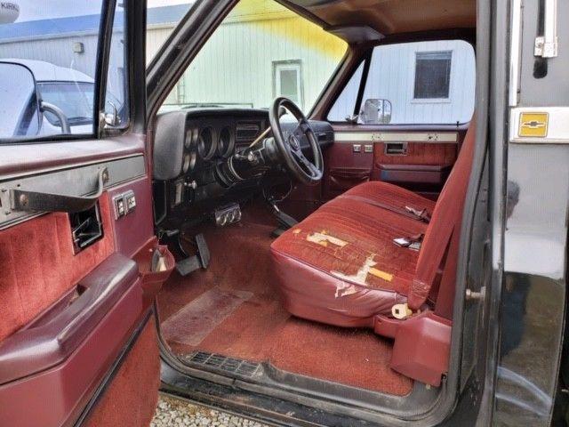 1985 Chevrolet K10 4x4 Custom Deluxe Shortbed