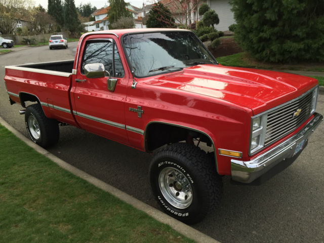 Lifted Chevy Silverado For Sale >> 1985 Chevrolet K20 4x4 Lifted Show Truck Over k in Extras ...