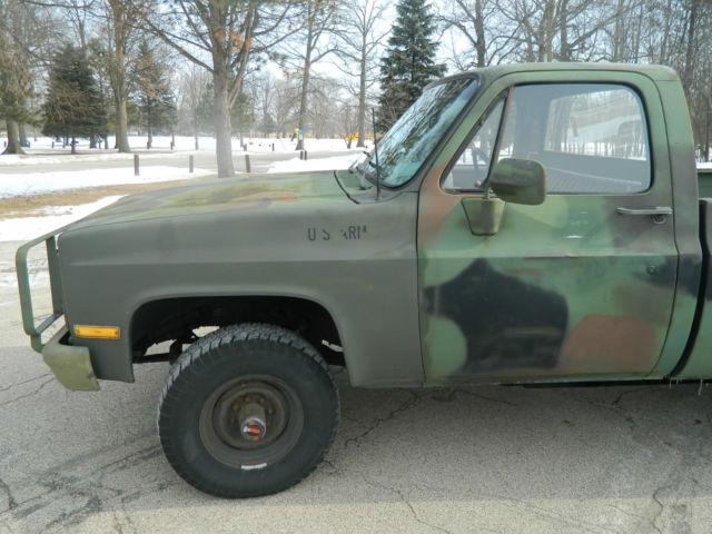 1985 Chevrolet 4x4 Truck For Sale   Autos Post