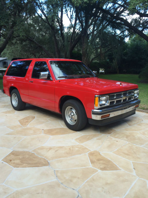 Used Chevy Tahoe >> 1985 Chevrolet S-10 Blazer, Tahoe with V8 motor, mint ...