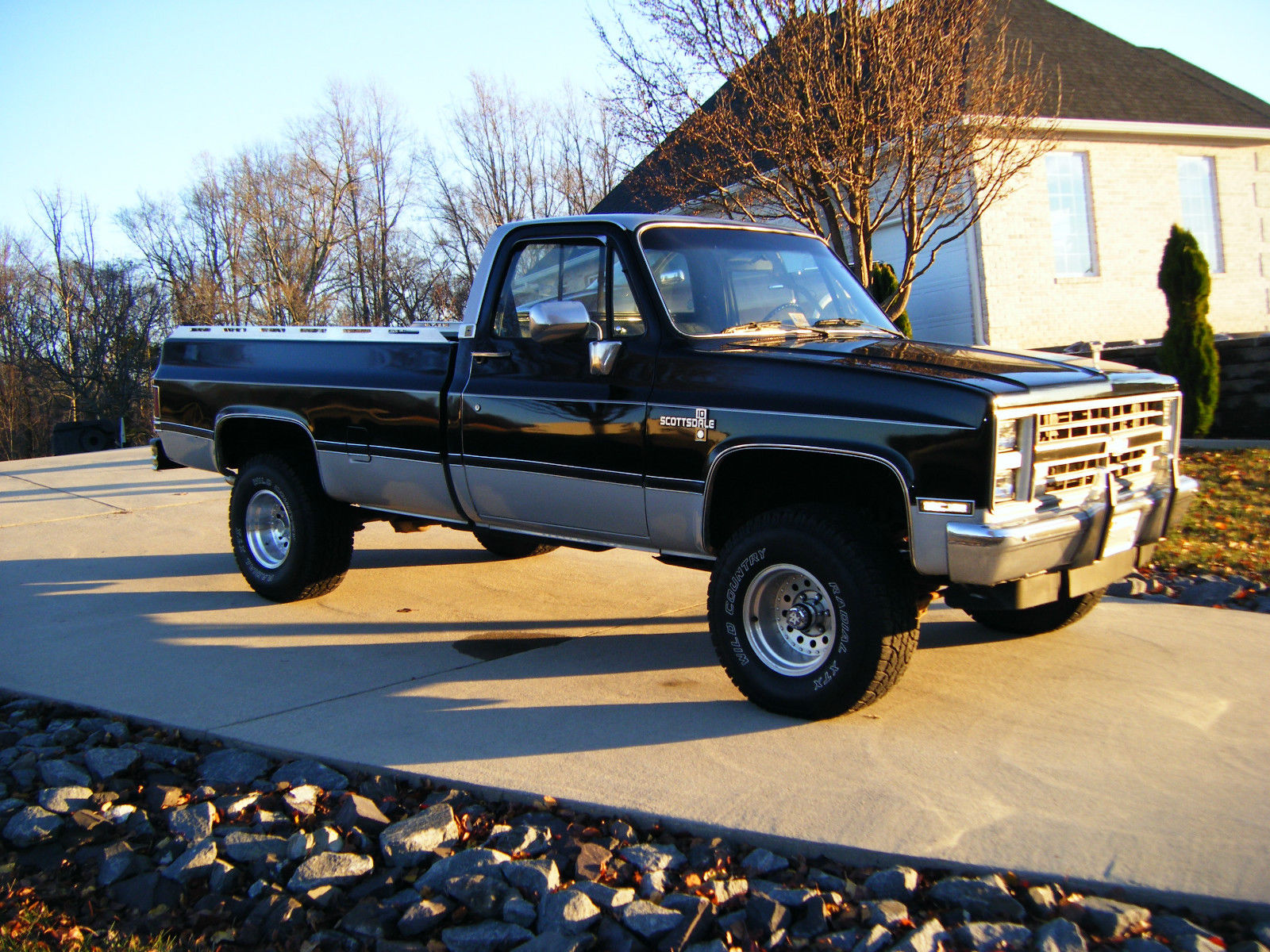 1985 Chevrolet Scottsdale 4X4 Truck - Classic Chevrolet Other ...