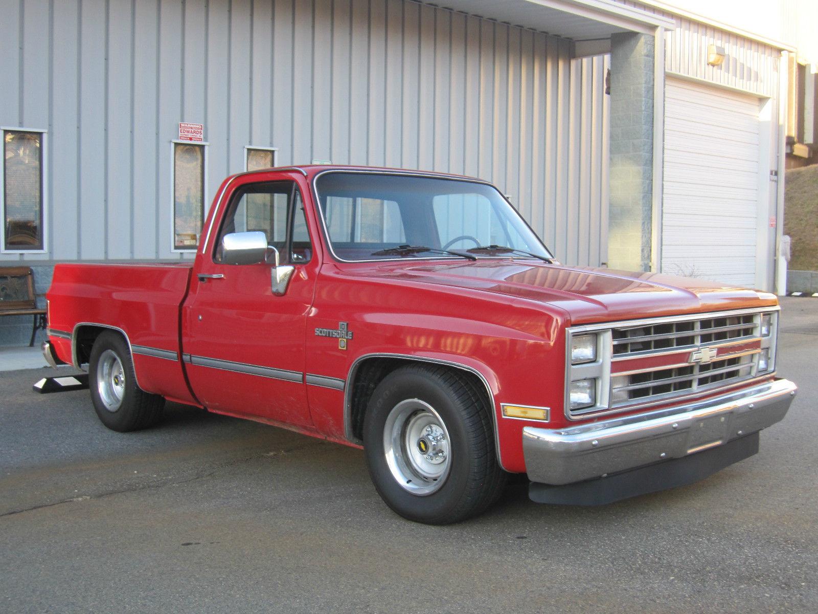 """1985 Chevrolet Silverado 1500 C/K 1500 2wd Shortbed """"Rat ..."""
