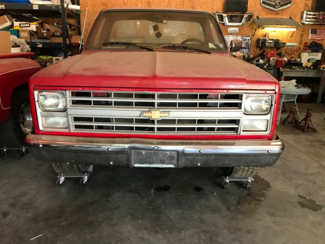 1985 CHEVY 1500 SHORT BED W / 454 ENGINE - Classic Chevrolet