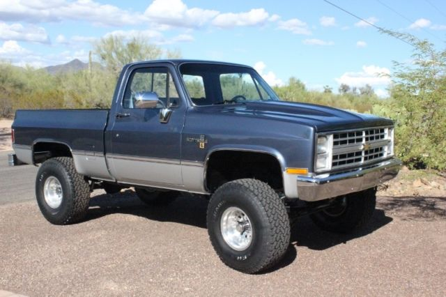 1985 chevy 4x4 pickup k 10 chevrolet truck classic chevrolet c k pickup 1500 1985 for sale. Black Bedroom Furniture Sets. Home Design Ideas