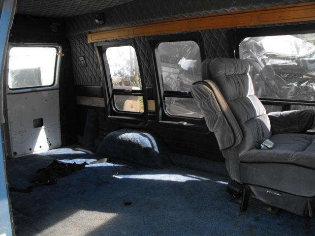 1985 Chevy Conversion Van Model Spt Classic Chevrolet