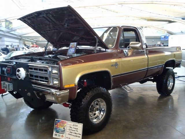the fall guy style   classic chevrolet c k pickup 2500 1985 for sale