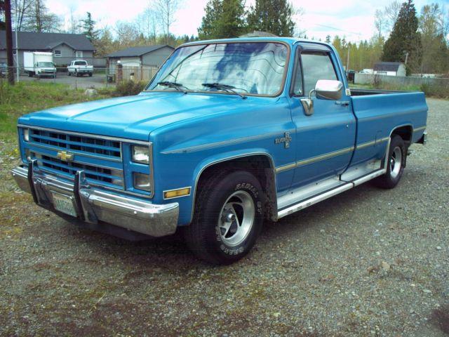 1985 Chevy Silverado 1500 Classic Chevrolet Silverado