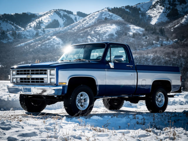 1985 Chevy Truck Silverado K10 4x4 Short Bed Shop Truck