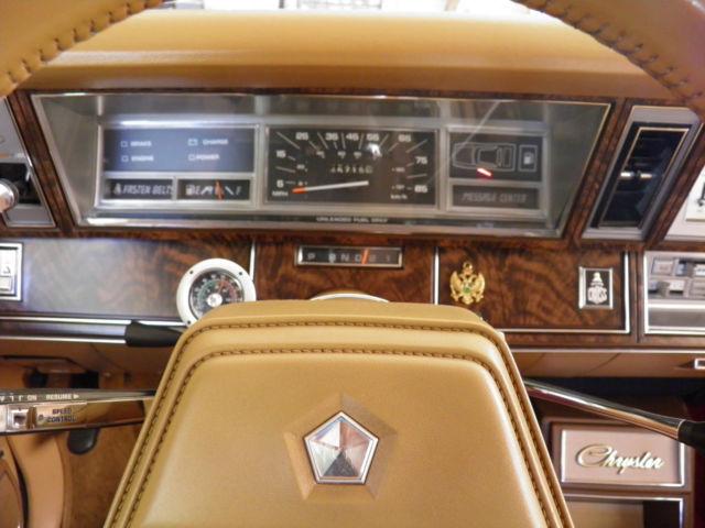1985 Chrysler Lebaron Turbo Coupe Mark Cross Leather