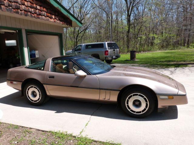 1985 Corvette, L98 350 engine, Z-51 suspension, removable
