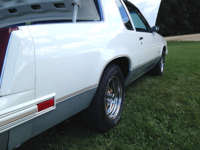 1985 Cutlass G Body T Tops White Two Door Automatic