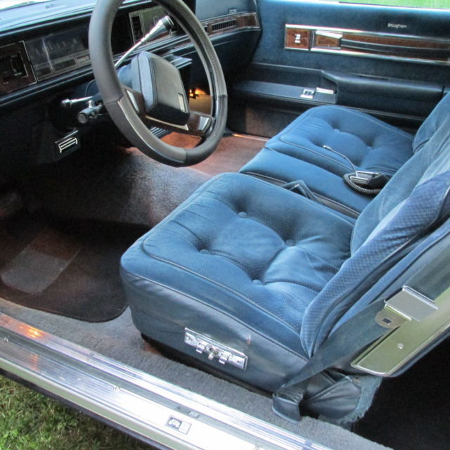1985 Cutlass Supreme Brougham 2 Door Full Power Options With V8 4 Bl Engine Classic