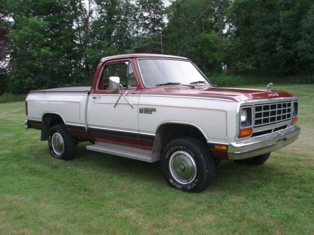 Dodge X W Mi Rust Free Orig Truck Pristine Condition on 1985 Dodge Power Ram 4x4