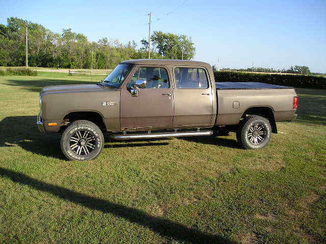 1985 dodge crew cab w350 short box power ram classic dodge other pickups 1985 for sale. Black Bedroom Furniture Sets. Home Design Ideas