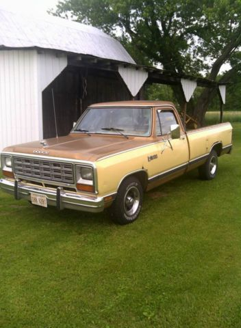 Cruise Control Should Not Be Used >> 1985 Dodge D150 Ram Pick Up Prospector - Classic Dodge Other Pickups 1985 for sale
