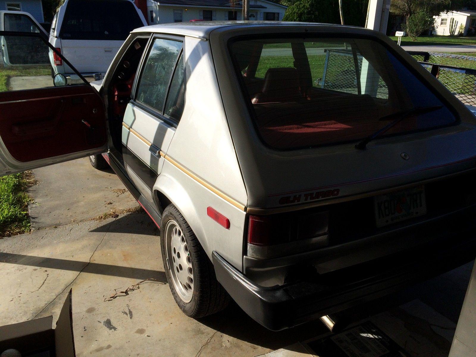 1985 Dodge Omni GLH Turbo intercooled - Classic Dodge ...