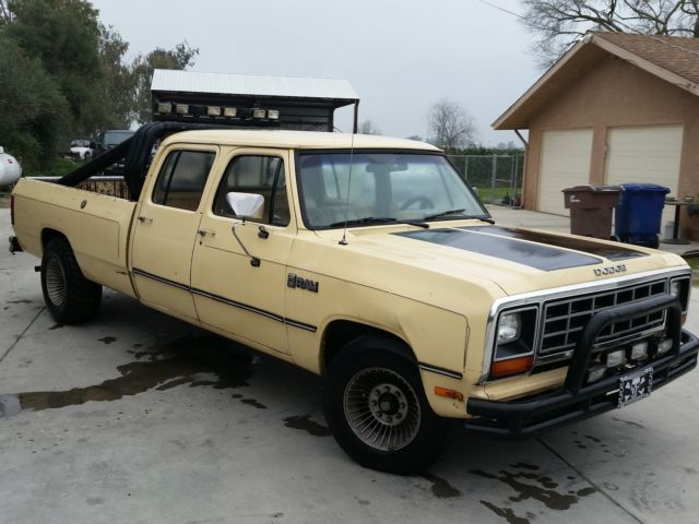Cars For Sale In Fresno Ca >> 1985 Dodge Ram D350 Crew Cab - Classic Dodge Other Pickups ...