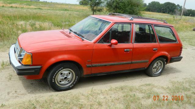 Check Engine Light Flashing >> 1985 escort wagon diesel wagon dry western car org paint ...