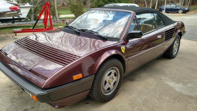 1985 Ferrari Mondial Quattrovalvole Convertible 2-Door 3.2L ,only 2 ...