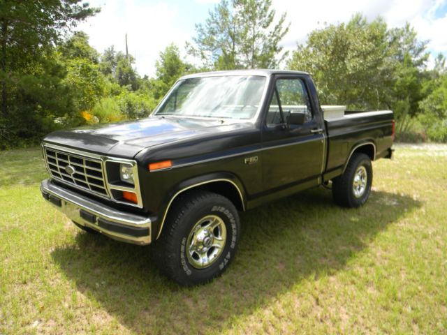 Ford F150 For Sale By Owner >> 1985 Ford F150 4x4 - Classic Ford F-150 1985 for sale