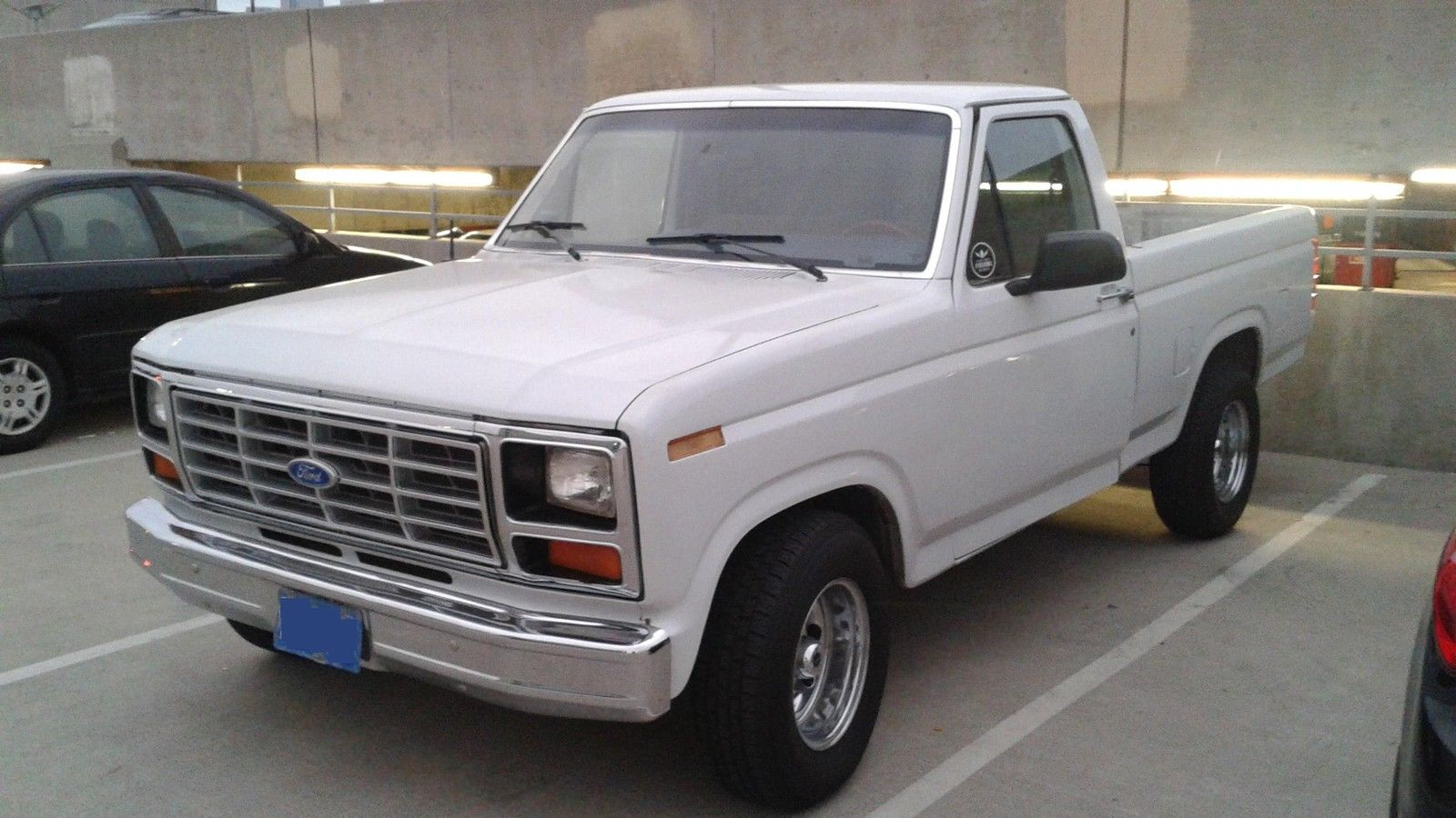 1985 ford f150 single cab short bed classic ford f 150 1985 for sale. Black Bedroom Furniture Sets. Home Design Ideas