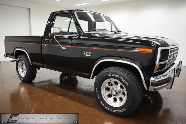 1985 Ford F150 XL SWB 4x4 - Classic Ford F-150 1985 for sale
