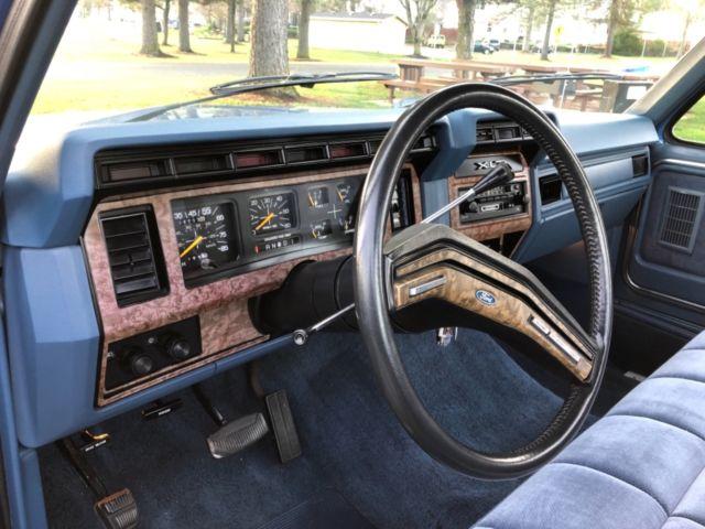 1985 FORD F150 XLT LARIAT Regular Cab Long Bed Pickup 5.0L ...