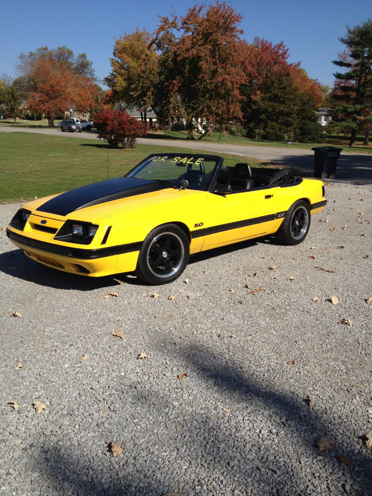 1985 ford mustang gt convertible classic ford mustang 1985 for sale. Black Bedroom Furniture Sets. Home Design Ideas