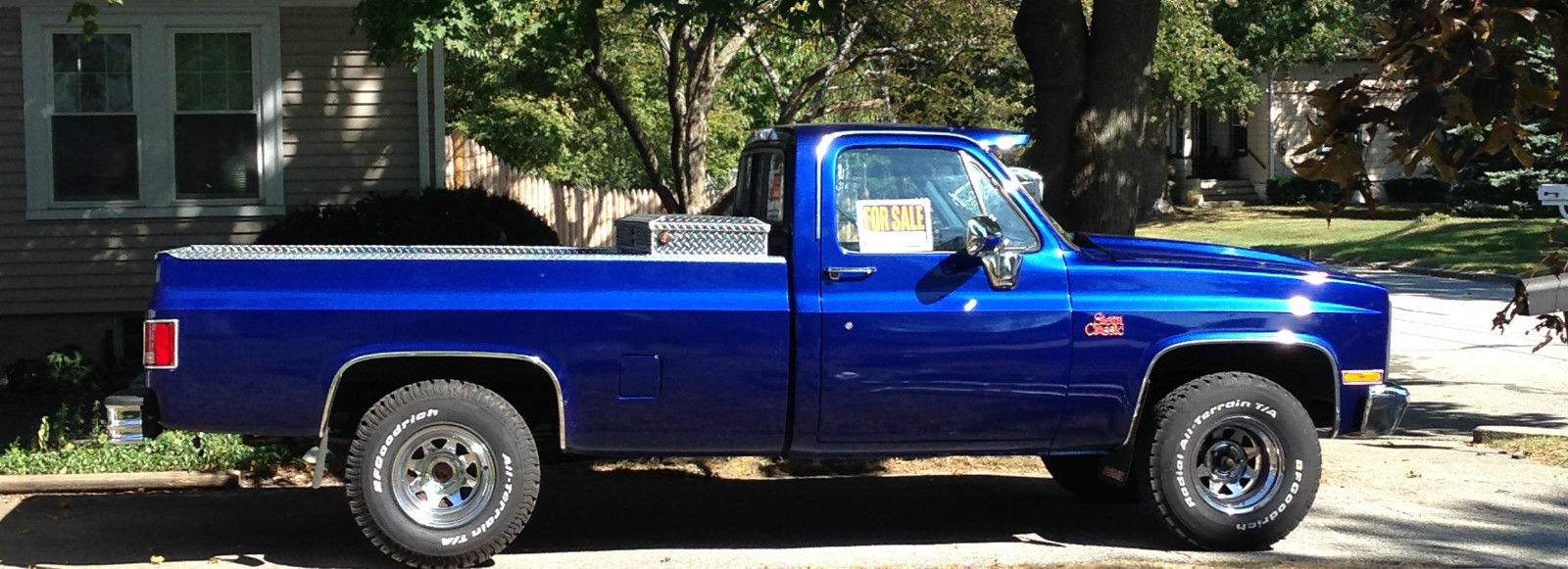 1985 Gmc Sierra Classic Rust Free With A 1987 Chevy 305 Ho