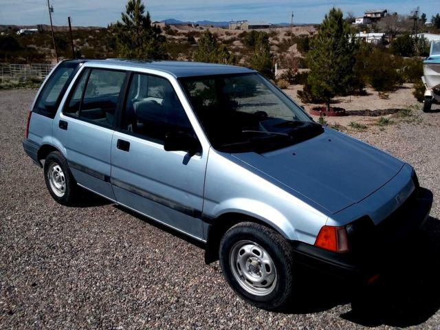 1985 honda civic wagon southwest car low rust weber carb for Honda civic 1985