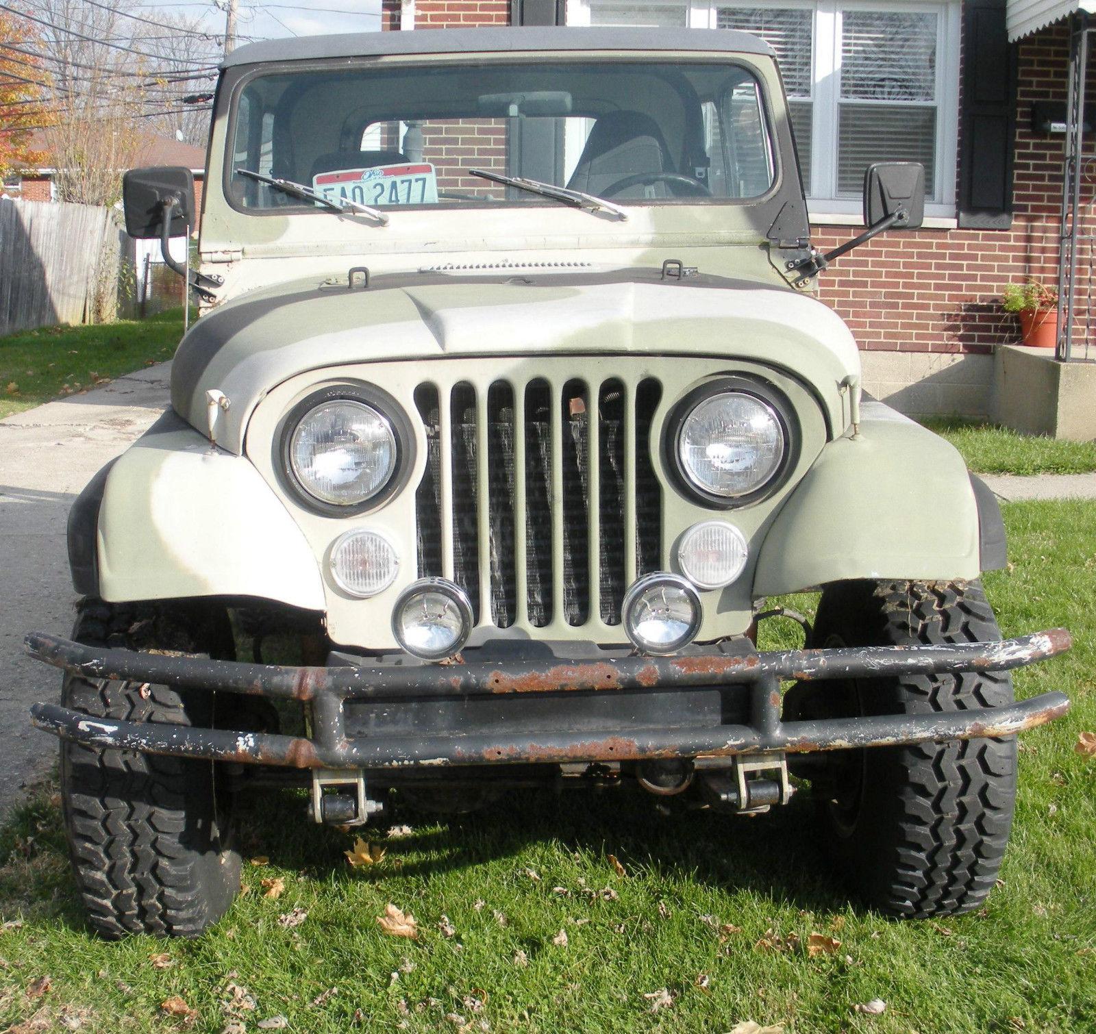 1985 Jeep Cj7 4x4 With 1995 Jeep Yj Body Tub Classic