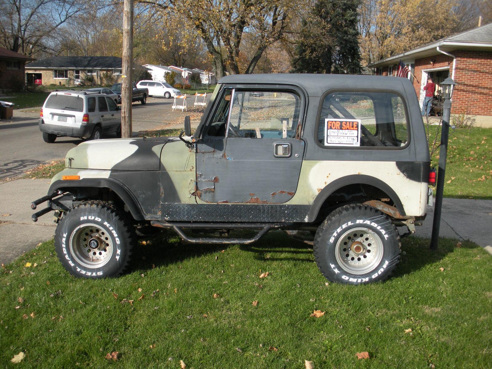 1985 Jeep CJ7 4X4 with 1995 Jeep YJ body tub - Classic Jeep CJ 1985