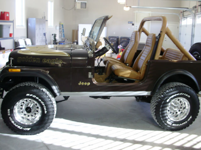 Classic Jeeps For Sale >> 1985 Jeep CJ7 Golden Eagle - Classic Jeep CJ 1985 for sale